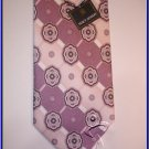 MENS NEW STACY ADAMS SILK TIE PAISLEY FLOWERS