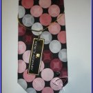 MENS NEW STACY ADAMS SILK NECK TIE POLKA DOTS