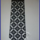 MENS NEW W/TAG STACY ADAM SILK TIE CHECKERS ART DECO