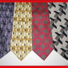 MENS SAVILE ROW JOSA BANK DANIEL FASSON SILK NECK TIES