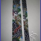 MENS NEW ED HARDY CHRISTIAN AUDIGIER SNAKE SILK TIE
