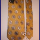 MEN NEW STACY ADAMS SILK TIE FLOWERS CRISP WOVEN NECKTI