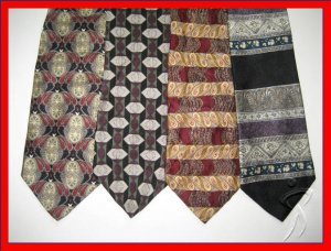 MENS PAVIA OSCAR CORPORATE COLLECTION SILK NECK TIES NR