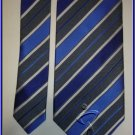 NEW GEOFFREY BEENE SILK TIE DESIGNER BLUE STRIPES