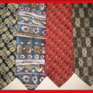 MENS LANDS END PIERRE CARDIN DESIGNER SILK NECK TIES NR