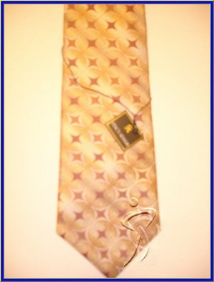 MENS NEW W/TAG STACY ADAMS SILK TIE CRISP WOVEN NECKTIE