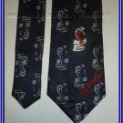 NEW ED HARDY SILK TIE RHINESTONE COBRA SNAKE TATTOO