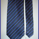 NEW GEOFFREY BEENE SILK TIE PIN STRIPES EXECUTIVE DESIG