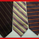 MEN CORPORATE COLLECTION STRIPES STRIPED SILK NECK TIES