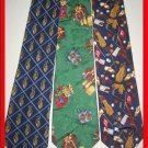 TOMMY HILFIGER TALBOT GOLF PRO GOLFER SILK NECK TIES