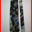 MENS GOLF TROPHIES CLUBS BALLS SPORTS SILK NECK TIE