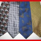 MENS TALBOT NORDSTROM TOMMY HILFIGER SILK NECK TIES LOT