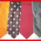 MENS RALPH LAUREN PAUL DIONE POLKA DOTS SILK NECK TIES