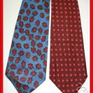 MENS RARE VINTAGE 1940s 1950s ABSTRACT ART RETRO TIES