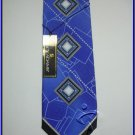 MENS NEW W/TAG STACY ADAMS SILK TIE ART DECO EXECUTIVE
