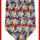 MENS RARE CAMBRIDGE CLASSIC SHARP COLOR SILK NECK TIE