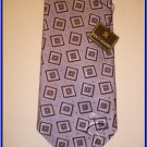 MENS NEW W/TAG STACY ADAM SILK TIE WEDDING SUIT NECKTIE