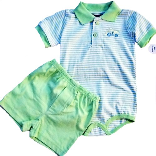 Two Piece Boys Short Set