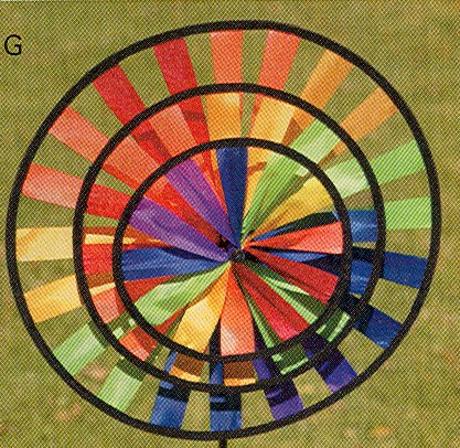 Rainbow Wind Wheel