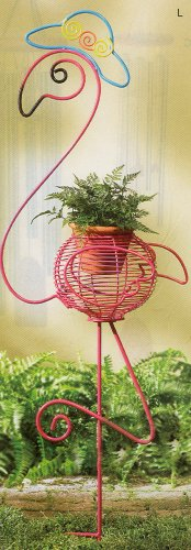 Flamingo Flowerpot Holder