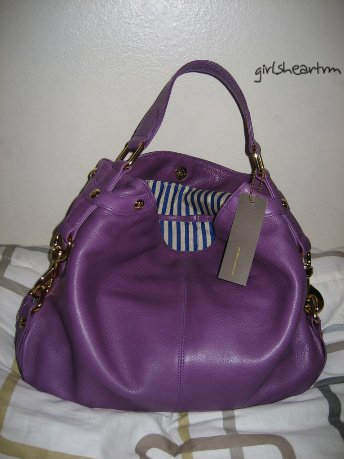 Brand New Rebecca Minkoff Purple Grape Mini Nikki Bag + FREE CHARM