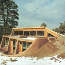 SOLAR HEATING Cooling Berm Underground Houses Book 1978