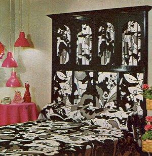 MOD DECORATING Interior Design Book Retro 1970