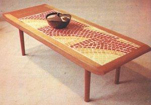 FURNITURE MAKING Collischon 1968 Veneers Mid Century Modern