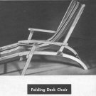 OUTDOOR PATIO FURNITURE Design Build Book Mid Century Modern 1955