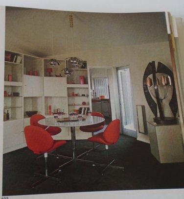 Decorating Ideas for Modern Living Hatje MID CENTURY DESIGN 1974