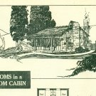 Vintage Cabin Beach House Plans Book 1938 Charming