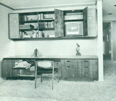 RECREATION ROOMS Book Mid Century Modern Design 1968