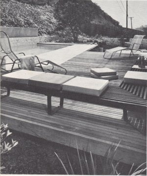 SWIMMING POOLS Vintage Mid Century Modern Build Design Eckbo Church 1966