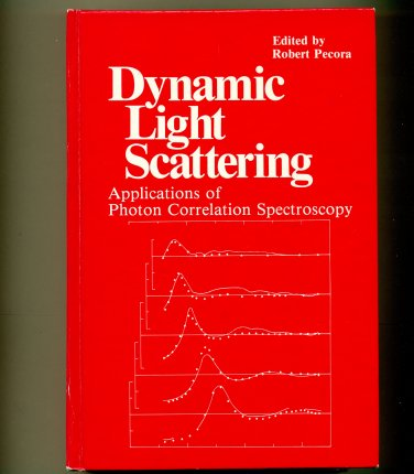 Dynamic Light Scattering Applications of Photon Correlation Spectroscopy