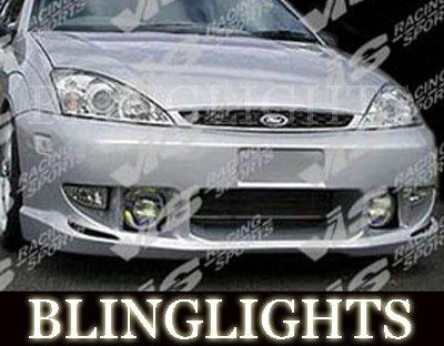 2000-2004 Ford Focus VIS Racing Body Kit Fog Lamps Bumper Driving Lights