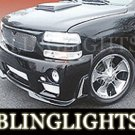 2000-2006 GMC Yukon Erebuni Body Kit Bumper Foglamps Drivinglights
