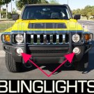 2006-2009 HUMMER H3x FOG LIGHTS driving lamps 2007 2008