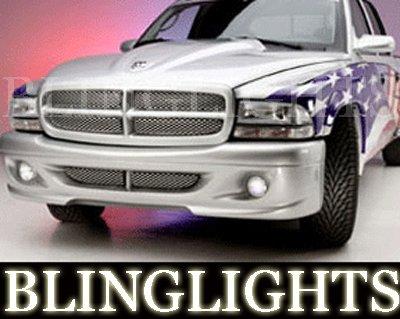 1997 1998 1999 2000 2001 2002 2003 2004 Dodge Dakota Wings West Body Kit Foglamps Fog Lamps Lights