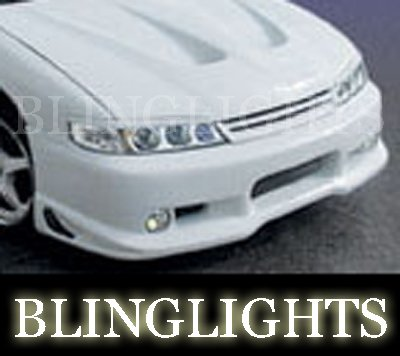 1994 1995 1996 1997 Honda Accord Erebuni Body Kit Fog Lamps Driving Lights Bumper Foglamps Foglights