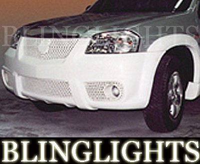 2001-2004 MAZDA TRIBUTE EREBUNI BODY KIT BUMPER FOG LIGHTS DRIVING LAMPS LIGHT LAMP 2002 2003