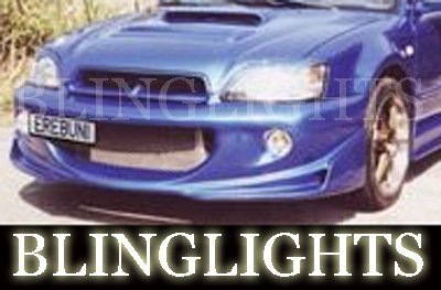 2000 2001 2002 2003 Subaru Legacy Erebuni Body Kit Foglamps Bumper Driving Fog Lamps Bumper Lights