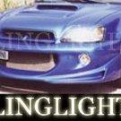 2000 2001 2002 2003 Subaru Legacy Erebuni Body Kit Foglamps Bumper Driving Fog Lamps Bumper Lights