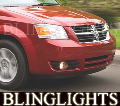 2008 2009 2010 Dodge Grand Caravan Fog Lights Lamps