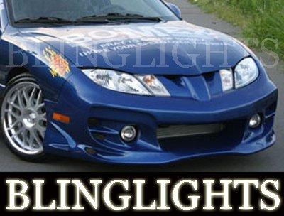 2003-2007 PONTIAC SUNFIRE BOMEX BODY KIT FOG LIGHTS LAMPS 2004 2005 2006
