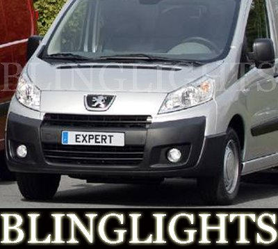 1996-2009 PEUGEOT EXPERT FOG LIGHTS PAIR panel window 2000 2001 2002 2003 2004 2005 2006 2007 2008