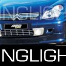 2005 2006 2007 2008 2009 Citroën C5 Gen1 Xenon Fog Lamps Driving Lights Foglamps Foglights Kit