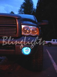 2002-2008 Dodge Ram 1500 Fog Lamp Driving Light Kit Halo Angel Eye