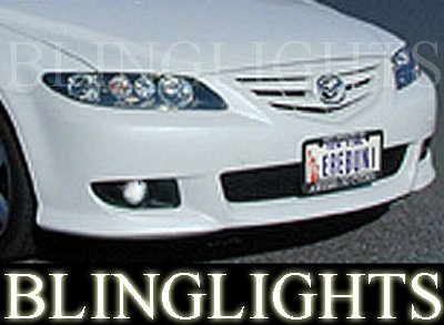 2003 2004 2005 2006 2007 2008 Mazda6 Erebuni Body Kit Foglamps Drivinglights