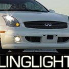 2003-2007 Infiniti Pulse One Kenstyle Body Kit Fog Lights Driving Lamps  2004 2005 2006