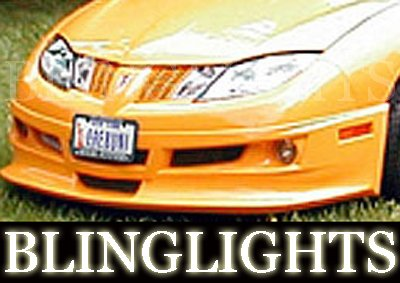 2003-2007 PONTIAC SUNFIRE EREBUNI BODY KIT FOG LIGHTS LAMPS 2004 2005 2006